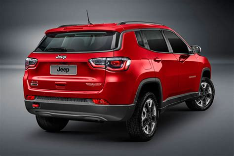 Jeep Compass Back 2018 Jeep Compass Revealed In Australia Late 2017