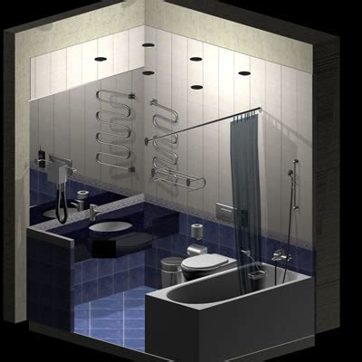 Hotel Bathroom Fixtures Hotel Bathroom Fixtures 3d Model