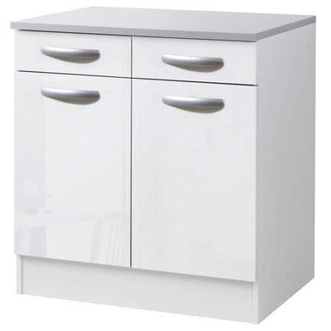 Beau Largeur Plan De Travail Cuisine #10: meuble-de-cuisine-bas-2-portes-2-tiroirs-blanc-brillant-h86x-l80x-p60cm.jpg?$p=tbzoom