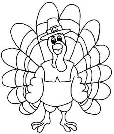 what color is a turkey thanksgiving coloring pages