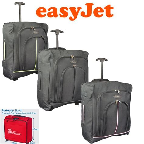 cabin bag easyjet new lightweight wheeled luggage trolley cabin bag