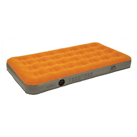 air bed pump alps outdoorz air bed with rechargeable pump 227975 air beds at sportsman s guide