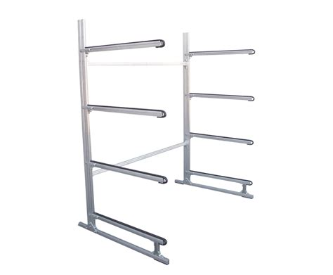 Free Standing Canoe Rack by Free Standing Rack For Four Canoes Or Kayaks Sut 4ckr