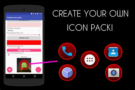 design my own icon icon pack generator create your own icon pack android