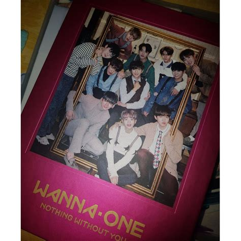 Wanna One Album Nothing Without You Wanna Versi wts wanna one nothing without you album one version entertainment k wave on carousell