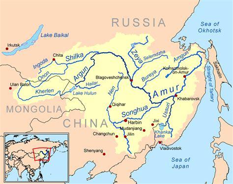 river map xi river map