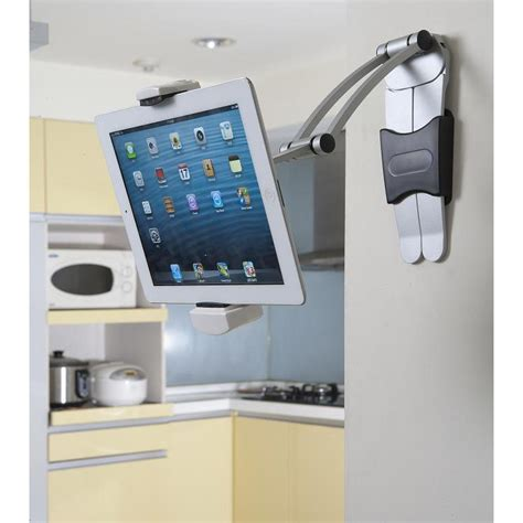 amazon com belkin kitchen cabinet tablet mount computers cotytech uws 4 ipad and tablet 3 in 1 mount and desk stand