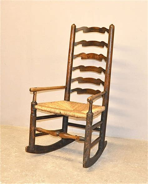 antique ladder back chairs price ladderback rocking chair q3316 antiques atlas