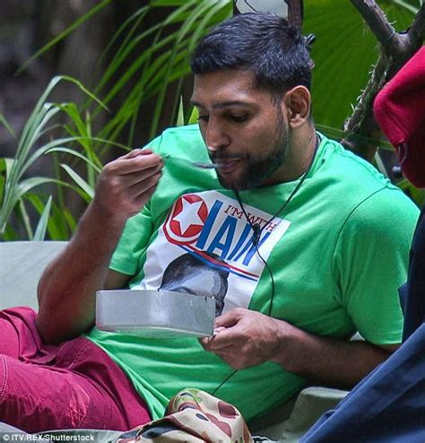 amir khan celebrity jungle i m a celebrity s amir khan gets halal meals in jungle