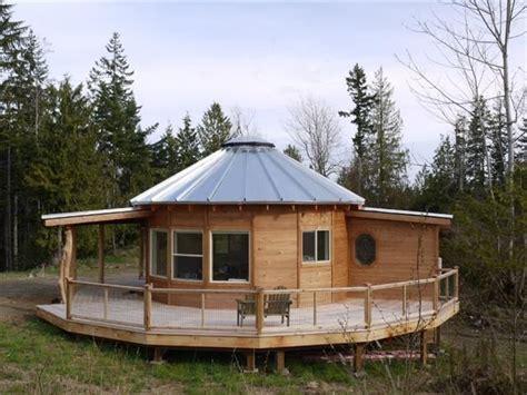 yurt house wooden yurts smiling woods yurts in carlton washington