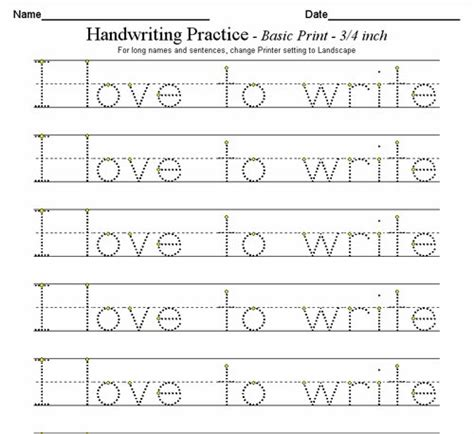 Custom Handwriting Worksheets by Custom Handwriting Worksheets Writing