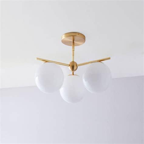 elm flush mount light 3 light semi flush mount ceiling fixture ceiling design