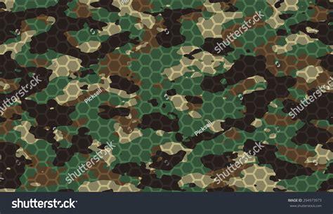 best camo pattern for hawaii seamless woodland camo with hi tech hexagonal grid pattern