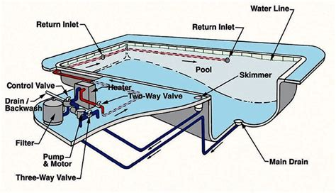 pool filter settings diagram pool skimmer diagram pool diagram elsavadorla