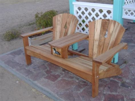 double adirondack chair plans  adirondack chair