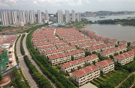 Low Cost Apartments by Inside One Of China S Largest Ghost Towns Development