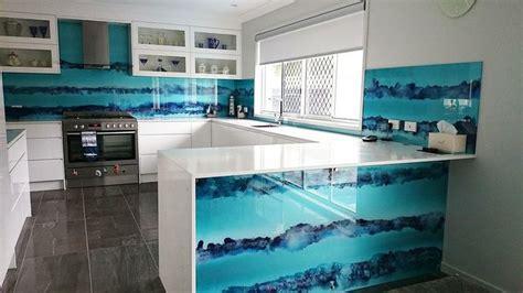 cheap kitchen splashback ideas tie dye glass kitchen splashback http www voodooglass