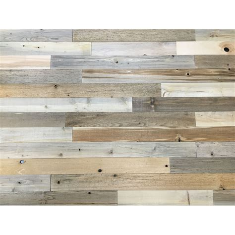 stick on wood wall peel and stick reclaimed wood wb designs