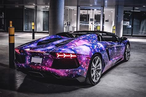 lamborghini purple galaxy design inspiration cars galaxy italy colorful