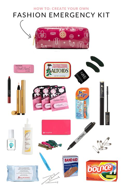 how to build a fashion emergency kit by coralsncognacs