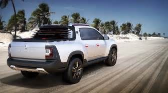 Renault Duster At Dacia Duster Oroch Up Truck At 2014 Sao Paulo Show By