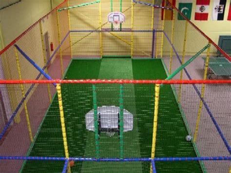 basket tappeti elastici struttura playground basket
