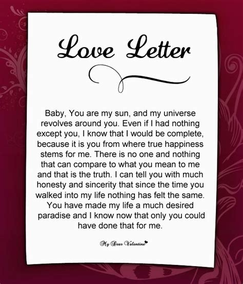 birthday love letters love letter for her 55 love letters for her pinterest