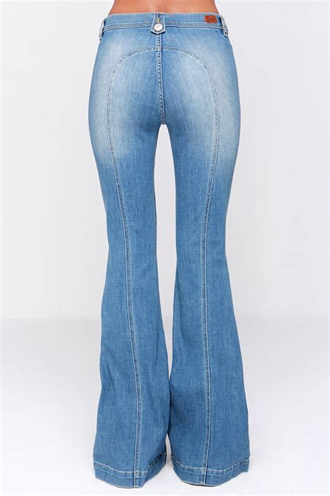 Light Flare Dittos Amy Jeans Flare Jeans Saddleback Jeans Light