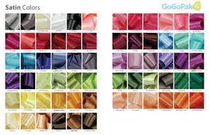 what color is satin canada bags boxes ribbon labels tissue paper