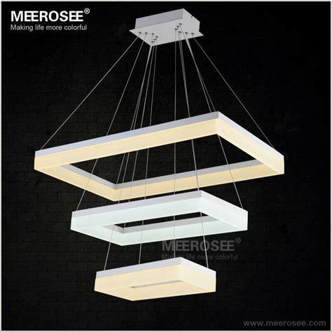 modern led pendant lights modern led pendant lights acrylic 3 rectangles led