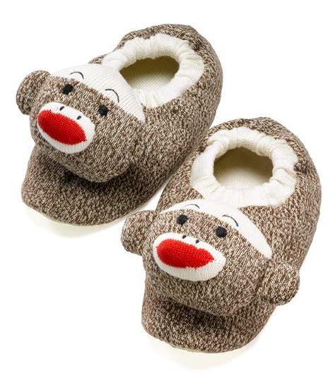 sock monkey slippers sock monkey slippers size 9 5 10