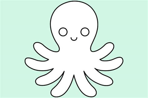 Octopus Outline by Octopus Outline Www Pixshark Images Galleries With A Bite