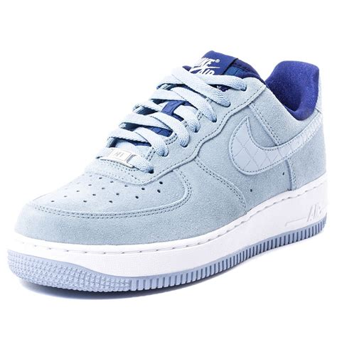 Nike Light by Nike Air 1 07 Seasonal Womens Trainers In Light Blue