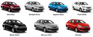 Mitsubishi Mirage Colors Philippines What Colors Does The 2017 Mirage G4 Come In Joe