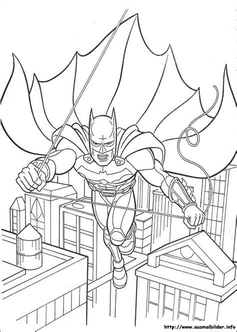coloring page info batman malvorlagen