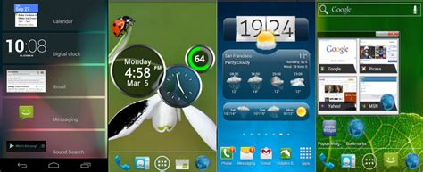 widgets android best android widgets for improving home screen thealmostdone