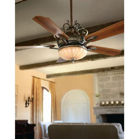 chateau ceiling fan hton bay 34012 chateau 52 in walnut