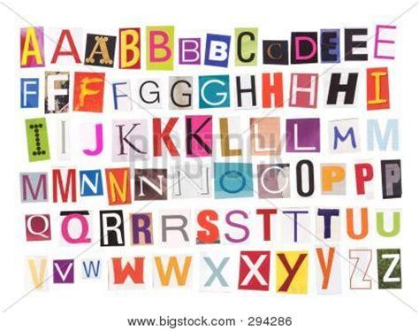 printable magazine letters printable alphabet cut outs alphabet magazine cutouts