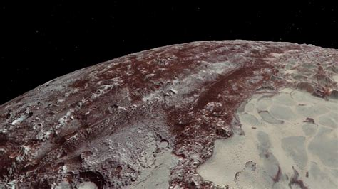 new images of pluto new horizons flyover of pluto