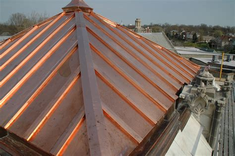 on roof virginia roofing siding company copper roofing