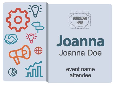 event name tag template event name tag template images free templates ideas