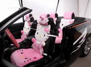Seat Covers Car Fluffy 12 Pink Hello Fluffy Winter Car Seat Covers
