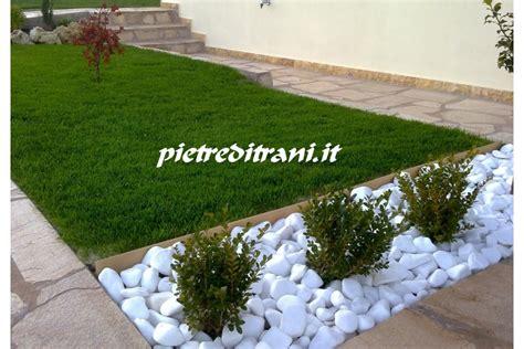 sassi bianchi giardino ciottoli da giardino bianco assoluto in buste michele