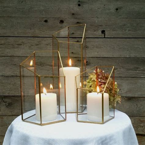 Gold Glass Candle Holders by 25 Best Ideas About Gold Candle Holders On