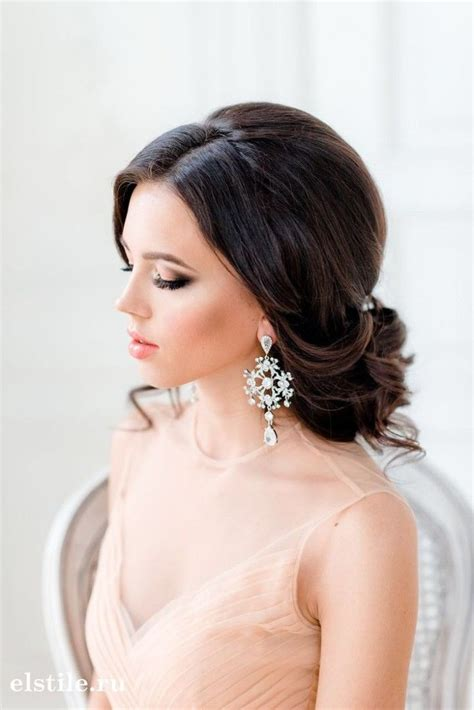 wedding hairstyle for hair tulle chantilly wedding