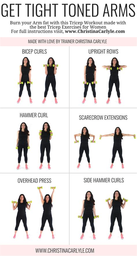best arm arm workout for best arm exercises for