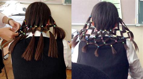 Rambut Sambung Dipasar Baru foto rambut kepang ala jaring net tarik perhatian netter kabar berita artikel gossip