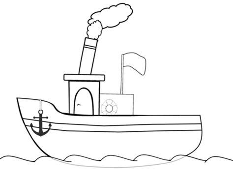 dibujo barco imprimir dibujos para colorear buque imprimir gratis