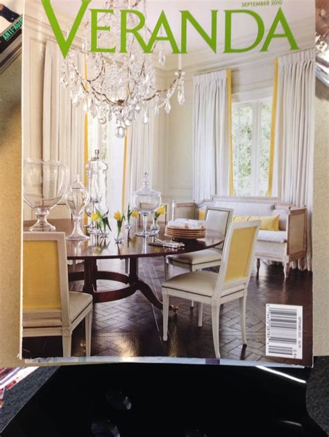 Veranda Magazine Dining Rooms by 88 Best Images About Quot Veranda Covers Quot On The
