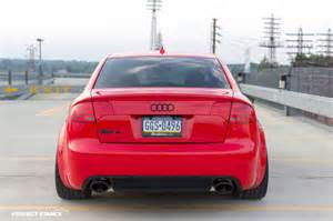 B6 S4 Interior Flying Tomatoes Misano Red B7 Audi Rs4 On Adv1s Car